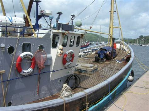 old boat for sale uk for sale 63 converted scottish fishing wooden motor yacht