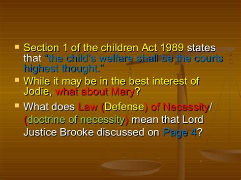 section 23 children act 1989 law morality