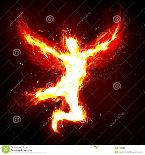 fire angel stock illustration image  background