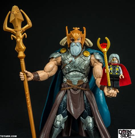 Marvel Legends Baf Odin marvel legends odin baf allfather wave photo shoot the toyark news