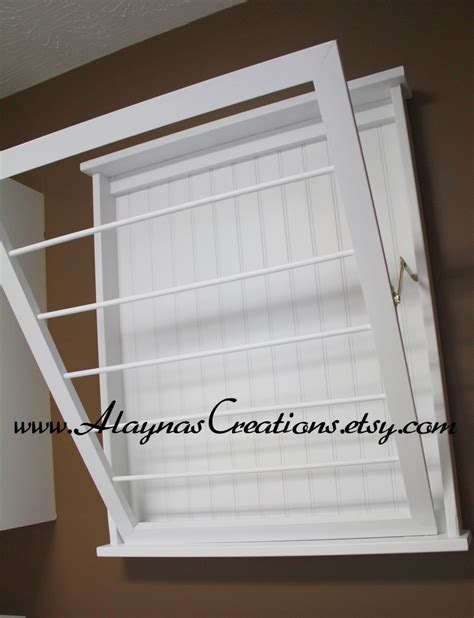 Laundry Room Drying Rack laundry room wall mount drying rack simple home decoration