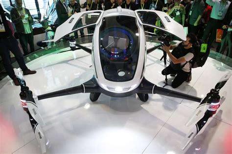 drone volante un drone avec passager la voiture volante de demain