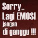 gambar dp bbm kata kata marah emosi bergerak caption instagram keren kekinian