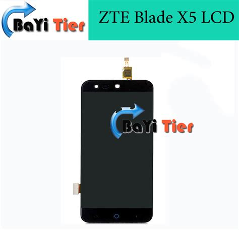 Lcd Zte V815 Gojek Ori 100 100 high quality zte blade x5 lcd screen replacement lcd display touch screen for zte blade x5