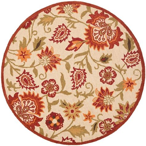 Safavieh Blossom Rug Safavieh Blossom Beige Multi 6 Ft X 6 Ft Area Rug Blm862a 6r The Home Depot