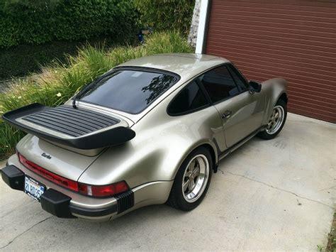 Porsche 911 Turbo 1986 by 1986 Porsche 911 Turbo German Cars For Sale Blog