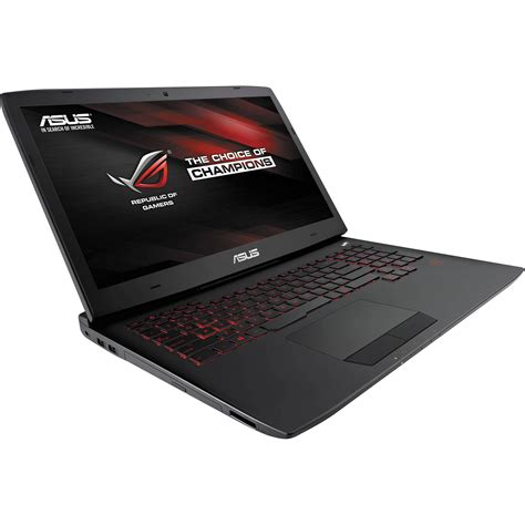 Asus Rog G751jt Ch71 Gaming Laptop asus republic of gamers g751jt ch71 17 3 quot g751jt ch71 b h