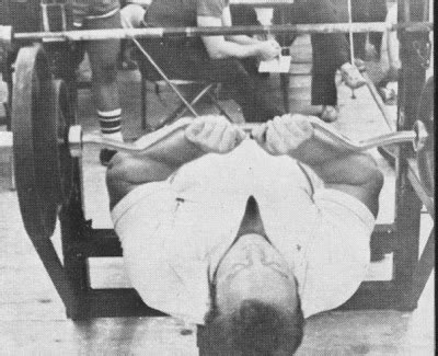 bill kazmaier bench press the tight tan slacks of dezso ban the bench press part