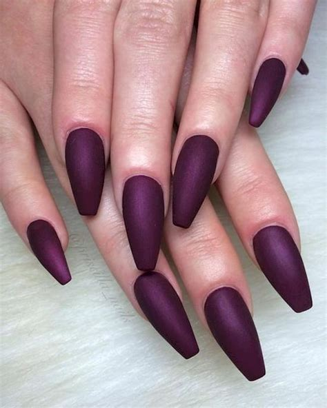 plum nail color top 25 mysterious purple nails