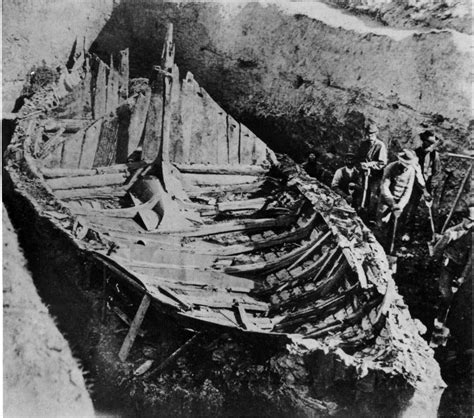 viking longboat excavations nordic heritage teen council