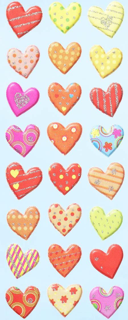 Herz Aufkleber by Alles F 252 R S Basteln Mit Herz Sticker