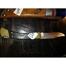 winchester buck knife buck knife 110 broken tip gerber folding knife