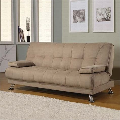 Coaster Fabric Convertible Sofa Bed With Removable Coaster Sofa Bed