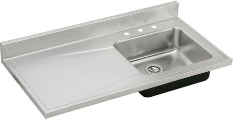 Kitchen Sink With Drainboard Singlebowl Kitchen Sink Bowl Kitchen Sink With Drainboard