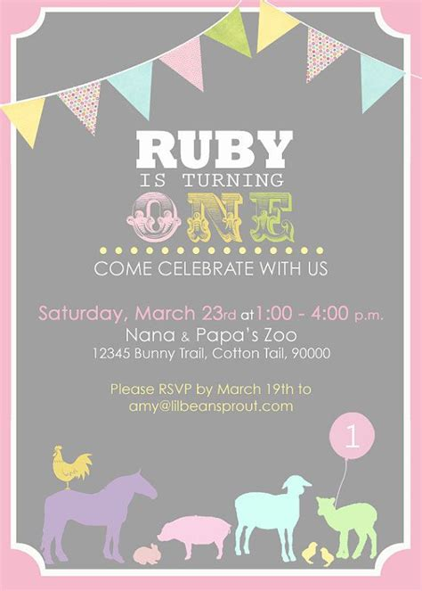 free printable zoo invitation petting zoo birthday printable invitation by lilbeansprout