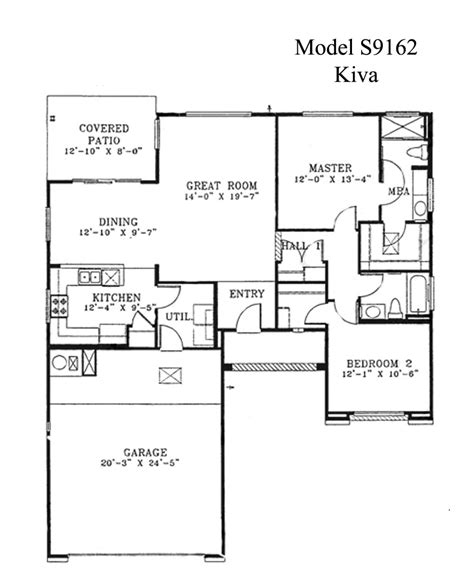 floor plan model sun city grand kiva floor plan webb sun city grand floor plan model home house plans