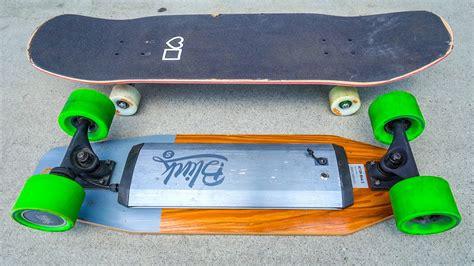 cruiser board cruiser board vs electric skateboard youtube