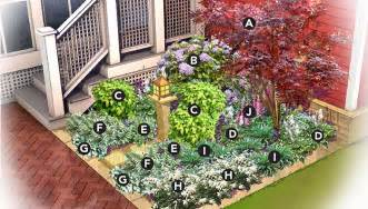 shady nook garden plan