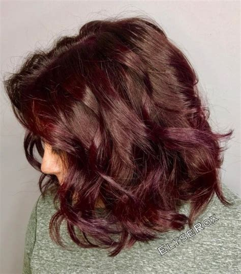 plum hair color 20 plum hair color ideas for your next makeover 2019 update