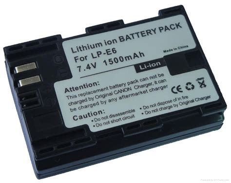 Batere Oem Canon Lpe6 battery for canon lp e6 oem china battery storage battery charger electronics