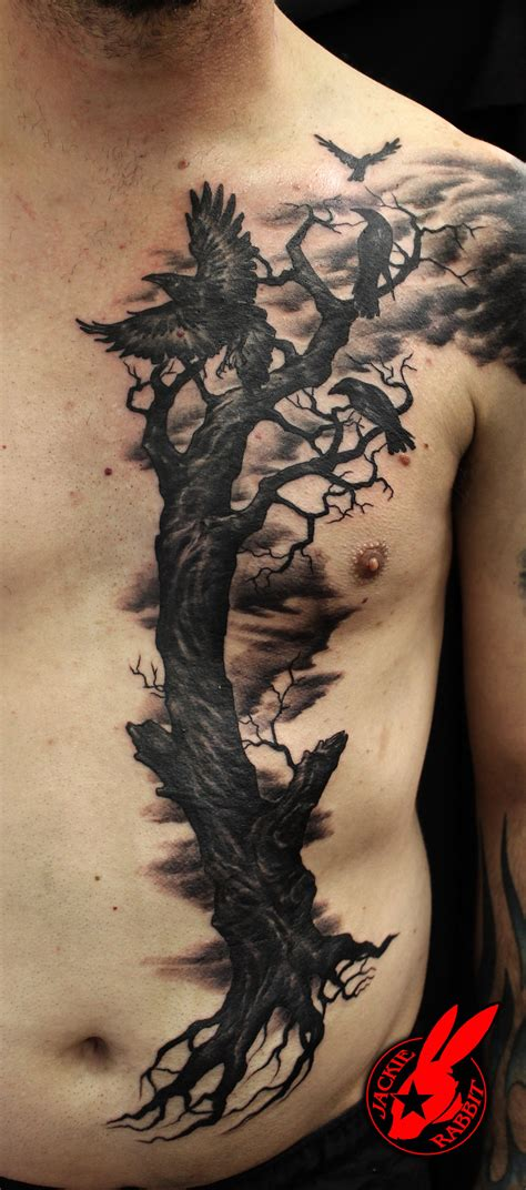 evil tree tattoo designs evil ravens tree by jackie rabbit by jackierabbit12