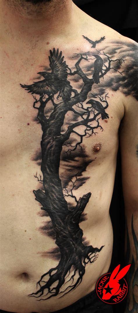 evil tree tattoo designs evil ravens tree by jackie rabbit by jackierabbit12