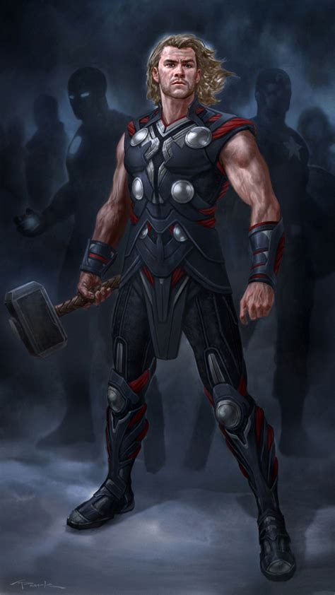 film like thor the avengers thor 02 by andyparkart on deviantart