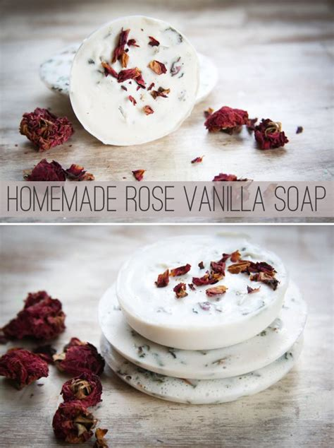homemade rose food homemade soap with roses and vanilla hellonatural co