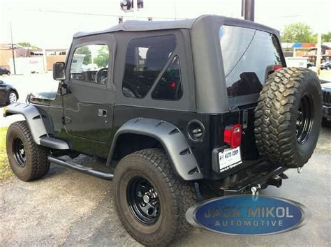 Soft Top Jeep Wrangler 97 06 Jeep Wrangler Replacement Soft Top Skins Ebay