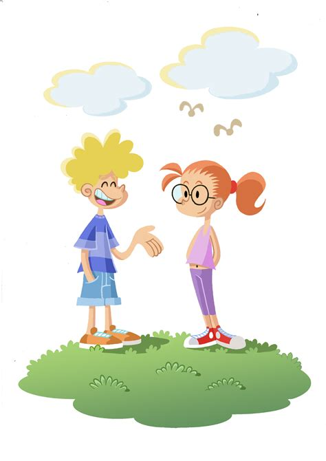 imagenes de niños hablando ingles marc alberich illustration comic children talking 2