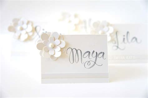 place cards diy how to make place cards smiling colors