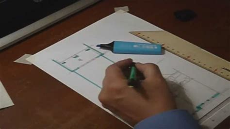 Floor Plan Drawer Architectural Floor Plan Sketch By Hand Drawing No 1 Youtube