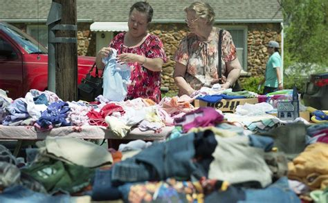 neosho citywide garage sale draws thousands local news