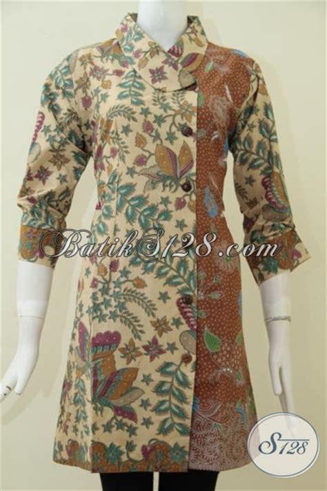 model baju batik modern kerja formal terbaru  keren