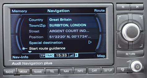 Audi Rns E Navigation Dvd by Audi Tt High Res Dvd Navigation System Rns E Satnav Systems
