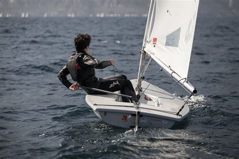 sailing boat laser how to rig a laser sailboat ebay