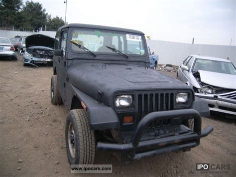 jeep pickup 1992 1992 jeep wrangler car photo and specs