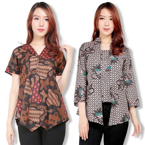 Blouse Atasan Kemeja Batik Wanita sb collection atasan blouse arum kemeja batik wanita