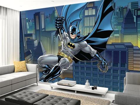 batman wall mural if you batman dc comics like we do then adding a