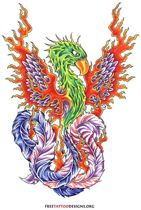 symbols phoenix pictures to pin on pinterest tattooskid
