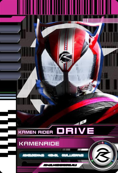 kamen rider decade card template kamen ride drive by mastvid on deviantart