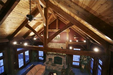 cathedral ceiling beams boomers drive sales of timber framed dwellings making it a downturn resistant niche toledo blade
