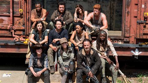 the walking dead season 5 casting call with recurring role cast on their characters evolutions comic con panel