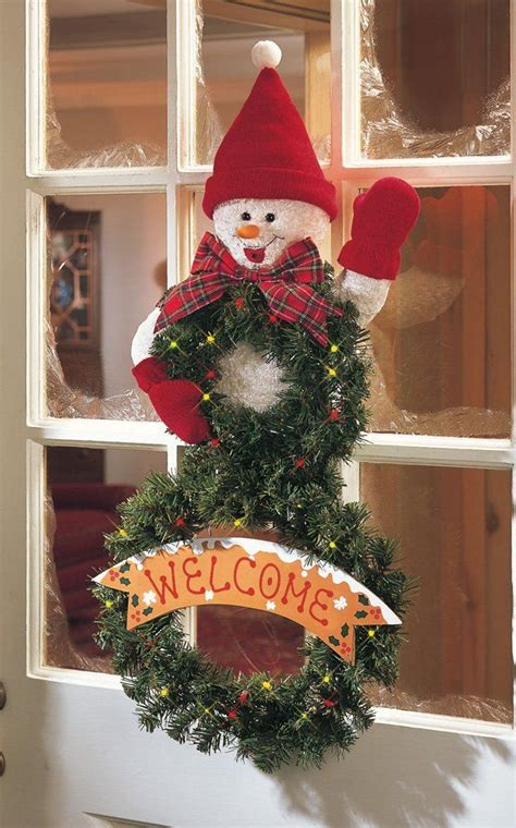 motion activated christmas decorations lighted motion activated singing let it snow battery operated musical welcome door wall hanging