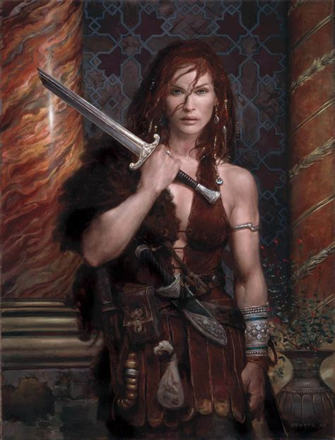 female warrior hair women in armour vs chicks in chain mail amazing stories