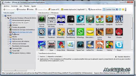 ver imagenes jpg en ipad como usar ifunbox y pasar archivos ssh sin wifi con usb