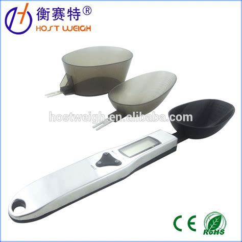 Spoon Digital Scale 300g X 0 1 Pst05 electronic digital spoon scale 300g 0 1g for kitchen scale weighing scales with three measuring