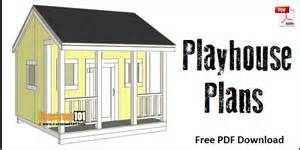 Home Design Pdf Ebook Download by Playhouse Plans Pdf Download Construct101