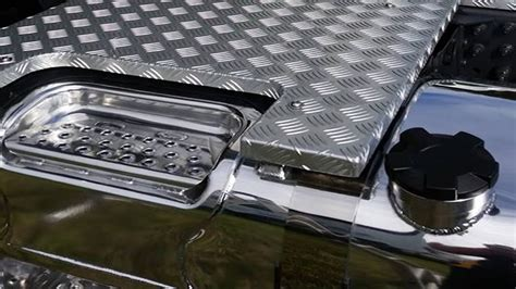volvo fh  custom catwalk  panel truck fabrication sas welding services