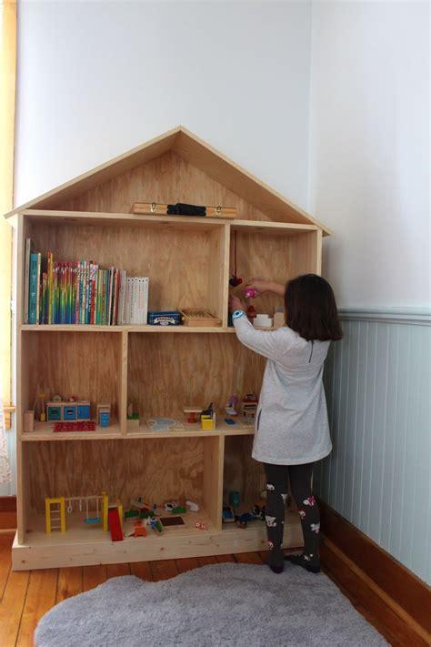 doll house book fun kid shelf homeschool room decoration pinterest
